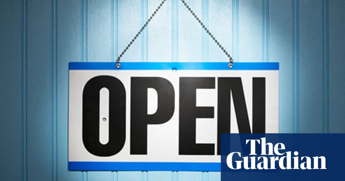 open business sign businesses events slashed 24p corporation tax budget creative bottom overlay openness transparency guardian te network