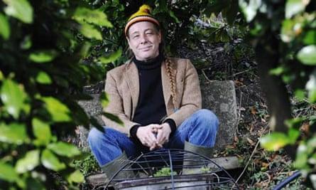 Bob Flowerdew at home in his garden in Norfolk