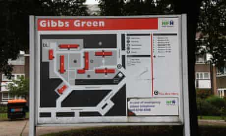 Gibbs Green estate West London