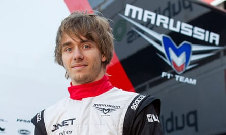Marussia F1 team's driver Charles Pic