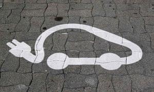 Electric car image in Strasbourg