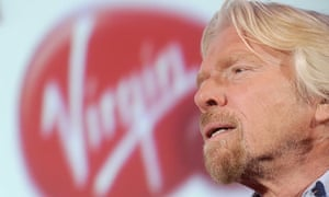 Richard Branson Virgin trains