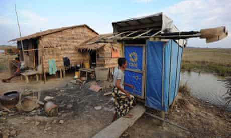 toilet myanmar