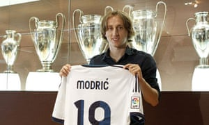 low priced e0443 393a7 Real Madrid's Luka Modric: from Balkan warzone to the ...