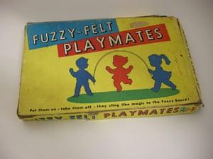 Modern British Childhood: Fuzzy Felt play mates 1964