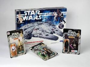 Modern British Childhood: Star wars toys