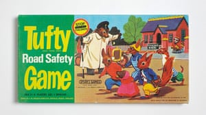 Modern British Childhood: Tufty Game box