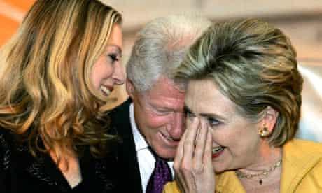 Hillary Rodham Clinton, Chelsea Clinton, Bill Clinton