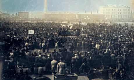 chartist meeting kennington 1848