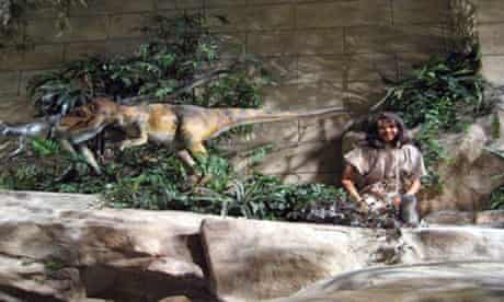 Exhbits in a Creationism museum