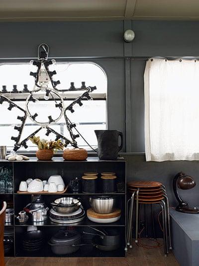 interior design storage solutions narrowboat houseboat bohemian