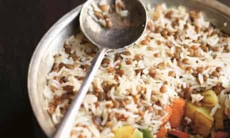 Vegetable biryani from Prashad by Kaushy Patel