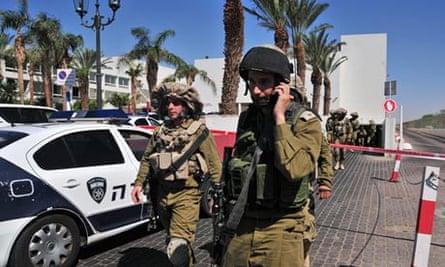 Israeli soldiers Eilat shooting
