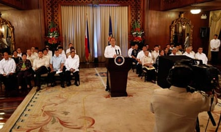 President Aquino delivers speech on Mindanao region
