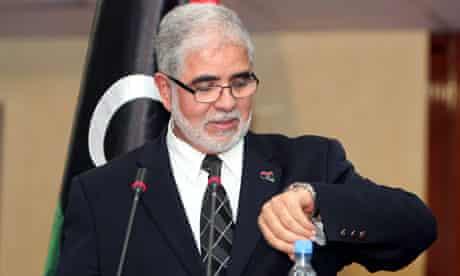 Libyan premier presents emergency cabinet