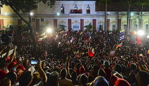 Venezuela elections: Venezuelan President Hugo Chavez speaks to supporters