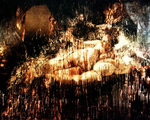 Defaced artworks: Rembrandt's Danae after it was damaged in an acid and knife attack in 1997