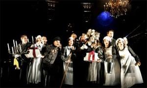 Dress rehearsal for Rebecca the musical, 2006