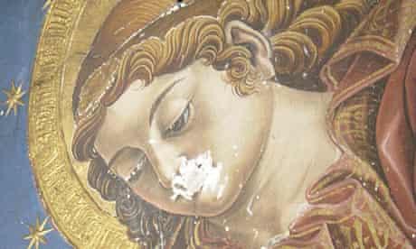 Valencia Cathedral fresco