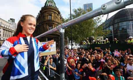 London Olympic Games - Athletes Victory Parade