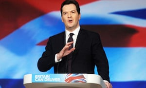 George Osborne at the 2012 Conservative Party conference