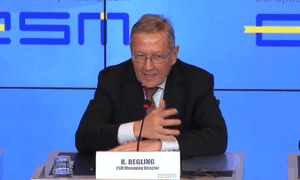 Klaus Regling, who runs the ESM