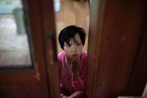 FTA: Kim Hong-Ji: Choi Seol, 19, at the Joosarang church