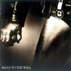 Album sleeves: Accept, Balls to the Wall