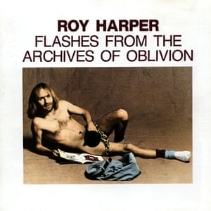 Album sleeves: Roy Harper, Flashes from the Archives of Oblivion