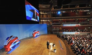 Eric Pickles addresses the Tory party conference in Birmingham