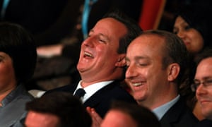 Is David Cameron simply enjoying a Johnson joke, or is that relief on his face that the London mayor didn't go for the jugular?