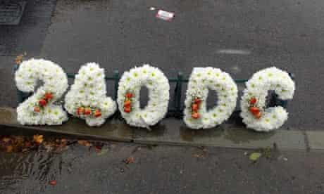 Gangster funeral flowers