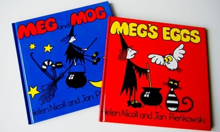 Two of the Meg and Mog titles