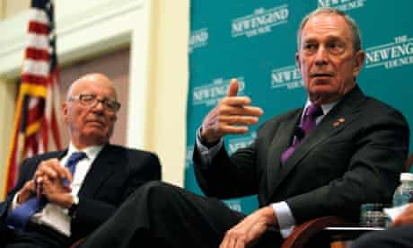 Murdoch and Bloomberg