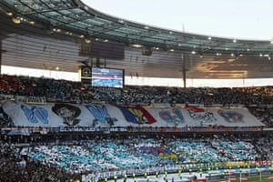 Tifo: Marseille's supporters