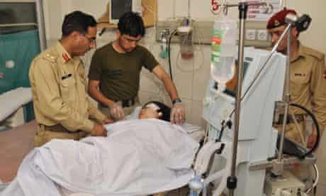 Malala Yousafzai treated by army doctors