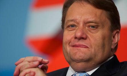 Energy minister John Hayes
