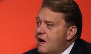 John Hayes, the new energy minister