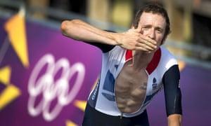 Bradley Wiggins at the London Olympics
