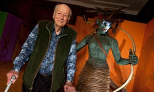 Ray Harryhausen's Monsters Exhibition at the London Film Museum, London, Britain  - 29 Jun 2010
