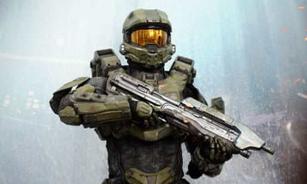 A character from the Halo 4 video game
