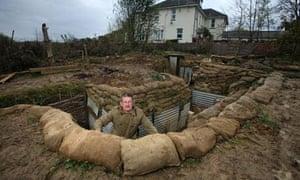 Garden trench