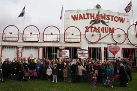 Walthstow greyhound stadium