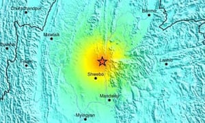 Burma earthquake
