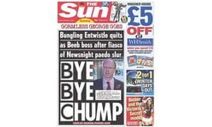 Entwistle Sun front page