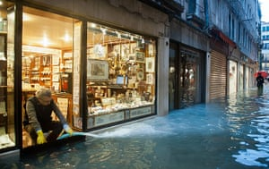 Venice floods: Exceptional High Water in Venice
