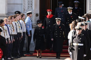 UK Remembrance Day: The Queen and the Duke of Edinburgh attend Remembrance Sunday service