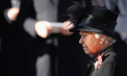 The Queen, Remembrance Sunday
