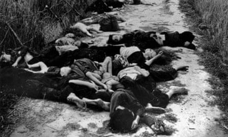 My Lai massacre, Vietnam, 1968