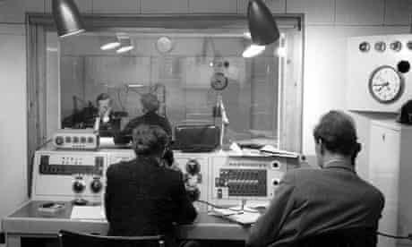 Recording the Today Programme in 1959